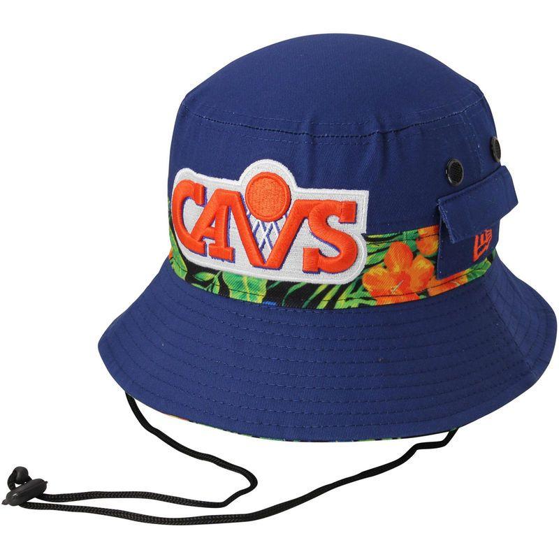 3cccc7db9d383 ... sweden cleveland cavaliers new era branded floral bucket hat royal blue  2885d d8567