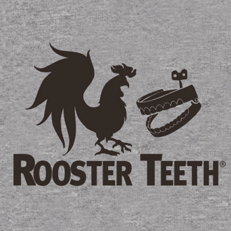 Rooster Teeth Logo Baseball Shirt With Images Rooster Teeth Teeth Logo Rooster