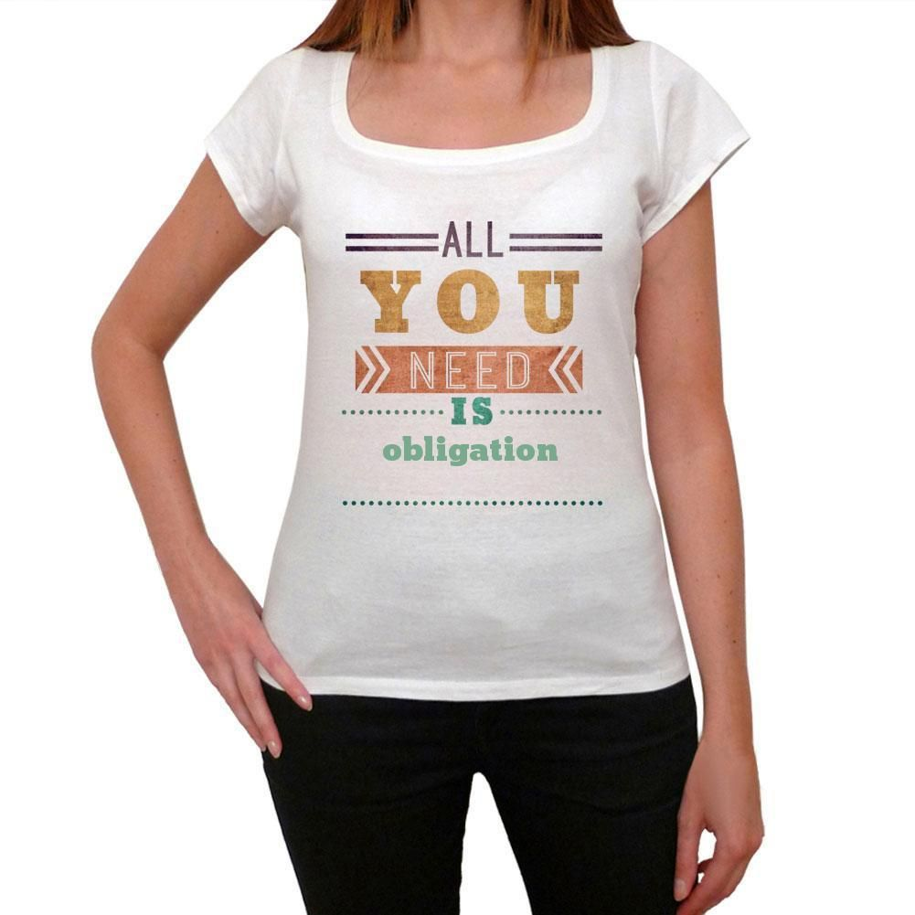obligation, Women's Short Sleeve Rounded Neck T-shirt