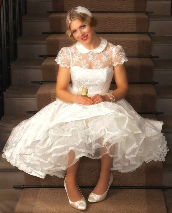 Wedding Ideas Abroad: So Beautiful ~ And Her Dress And Petticoat Too!