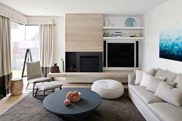 Pretty Contemporary Barwon Heads Beach House in Australia | Home Design Lover