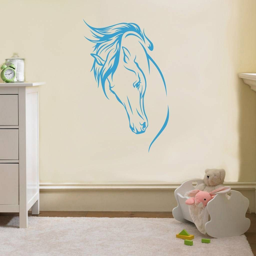Noble horse decal wall sticker art home decor any color stencil