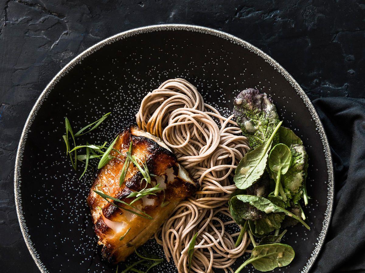 MisoMarinated Black Cod Recipe Black cod, Seafood