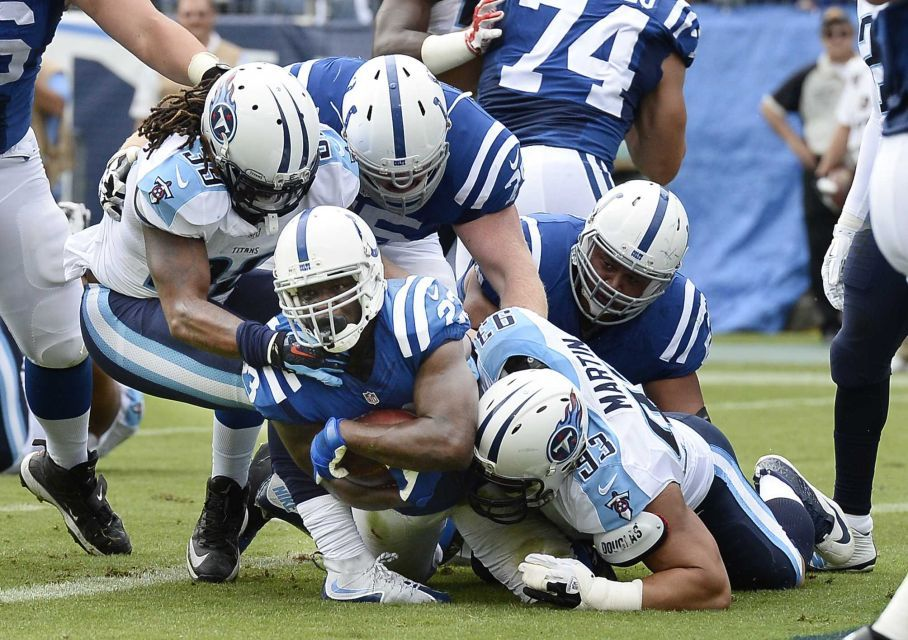 Colts 35, Titans 33 | Colts football, Nfl, Tennessee titans