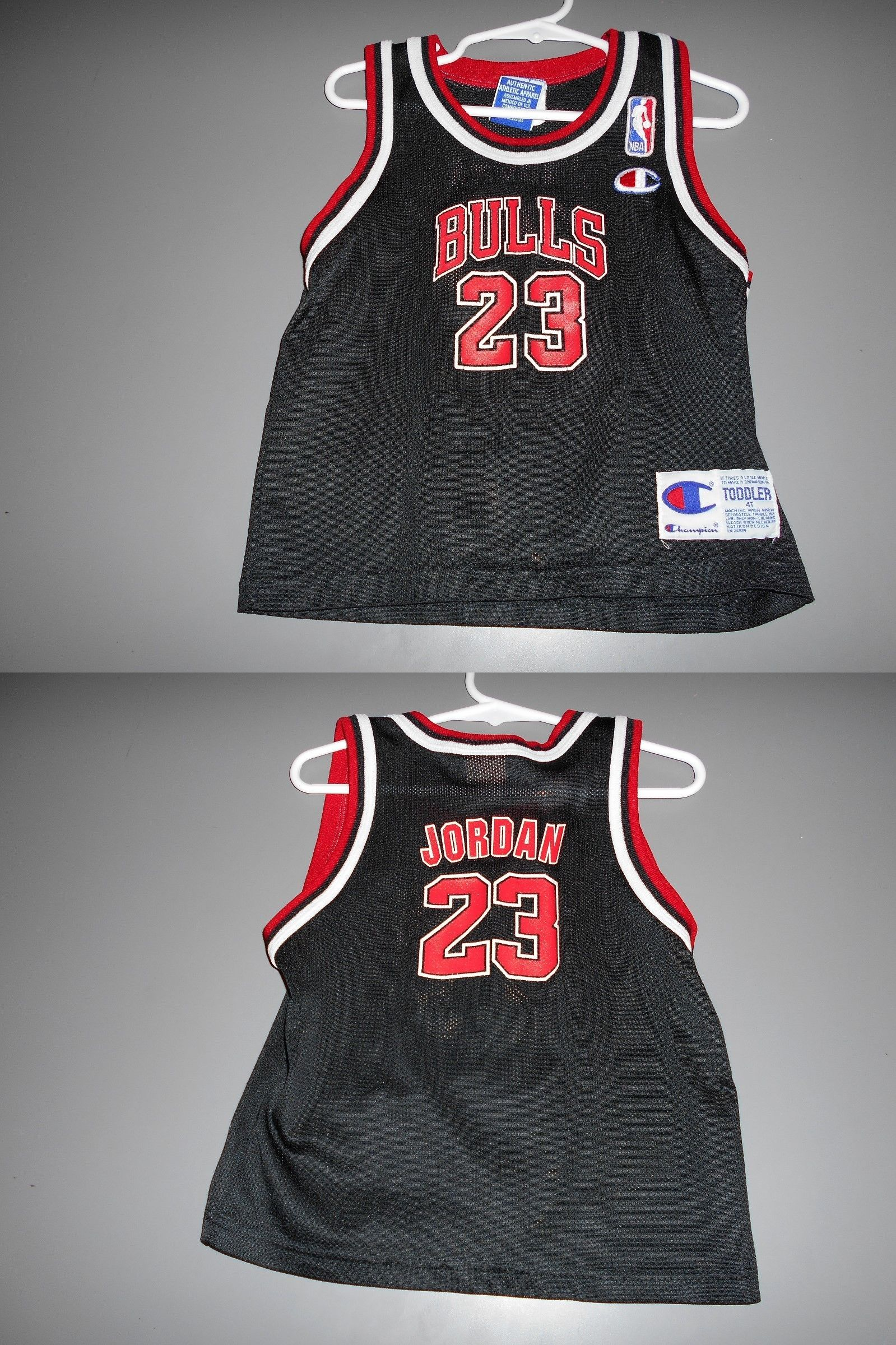 64c6b8a0352 Michael Jordan Baby Clothing: Chicago Bulls Michael Jordan Toddler Jersey  Size 4T. BUY IT NOW ONLY: $75.0
