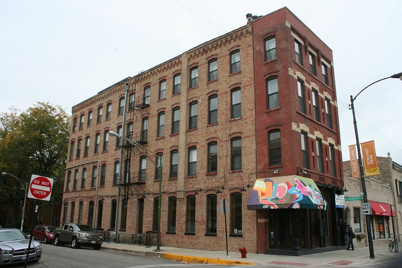 1329 W. Chicago Avenue at Throop, West Town. #chicagoarchitecture #chicagoarchitectureresources