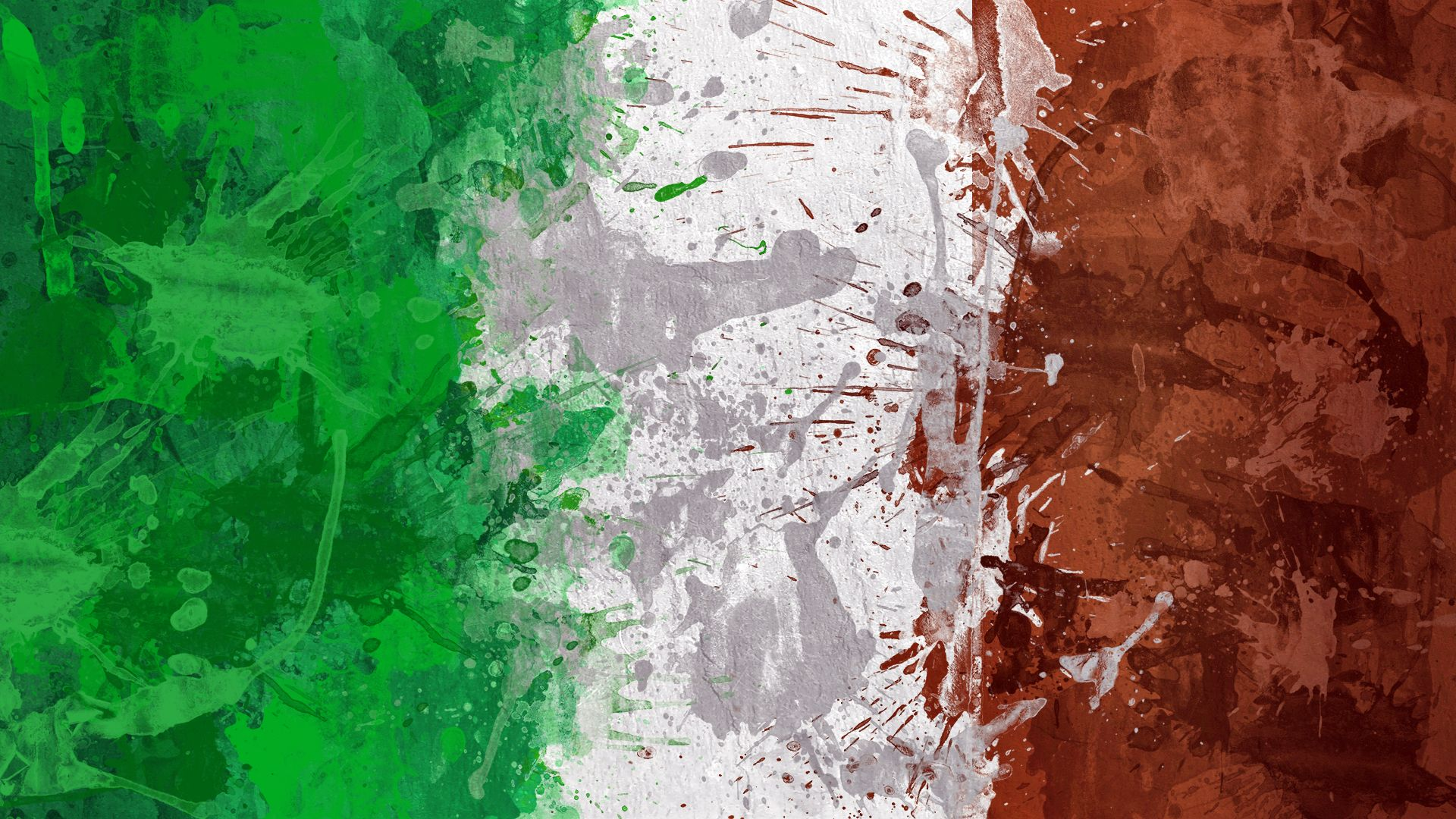 Italian Abstract Flag Wallpaper Hd Flags Pinterest