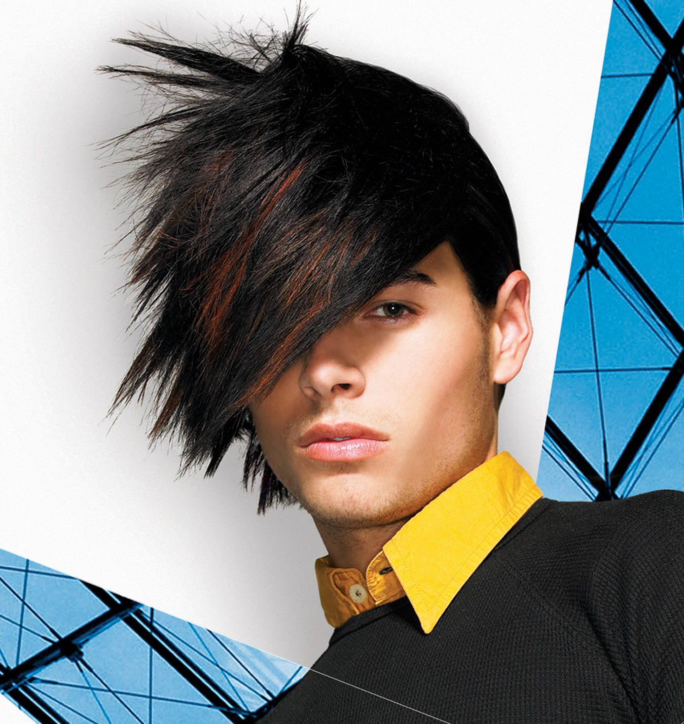 Pin By L Pagan On Hair Futuristic Hair Funky Hairstyles Mens Hairstyles