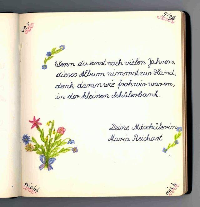 Poesiealbum Poesiealbum Poesiealbum Sprüche Und