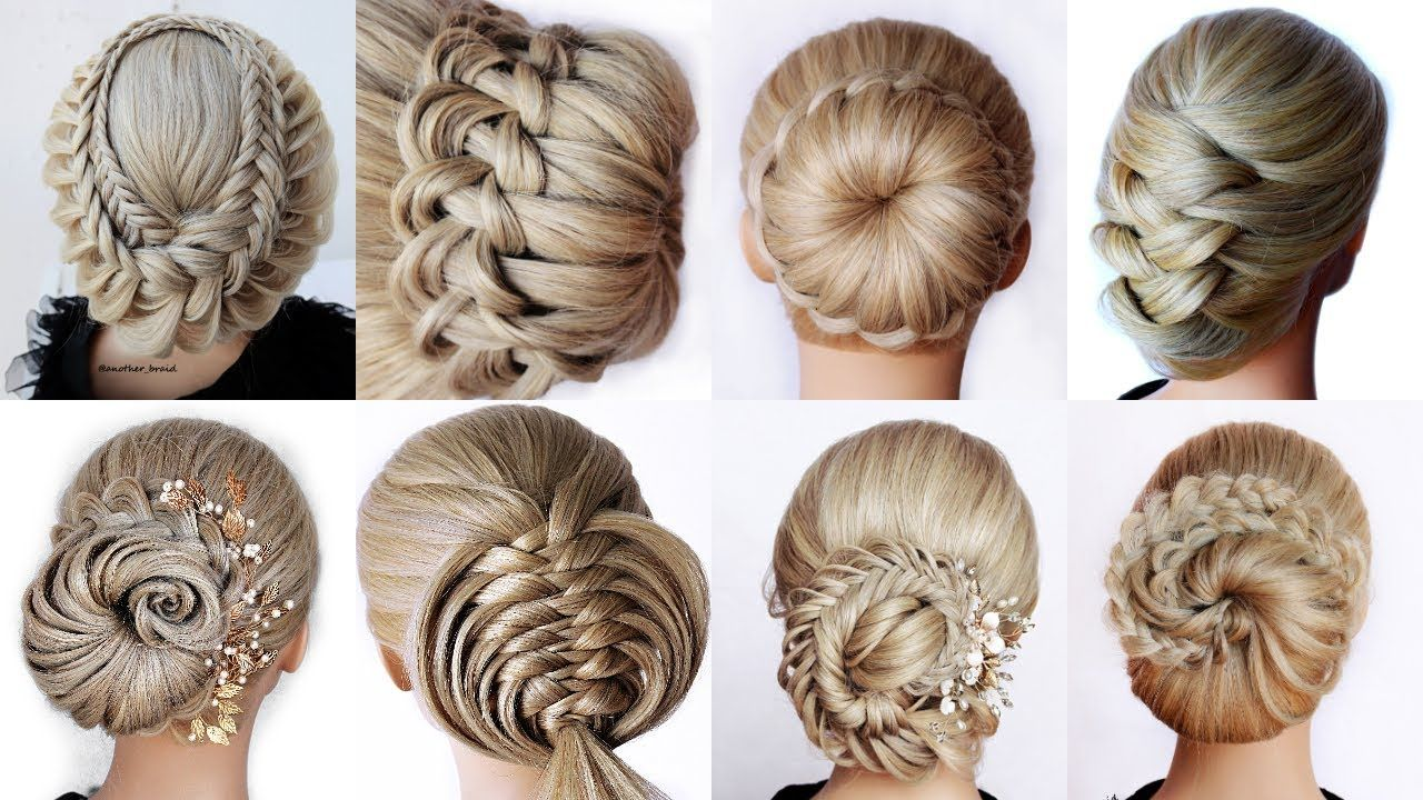 9 Easy Updo Hairstyles Tutorial Wedding Prom Updo Perfect For Long Mediu In 2020 Updo Hairstyles Tutorials Easy Updo Hairstyles Braided Hairstyles Tutorials Easy
