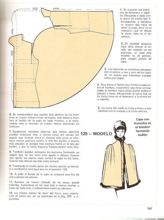 Pin de andrea stutz en patrones costura | Pinterest | Costura, Ropa ...