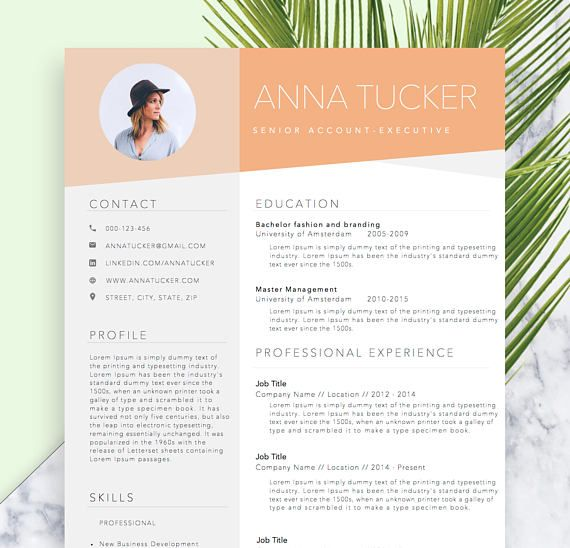 Resume Template References Template for Word DIY Printable cv - resume template references