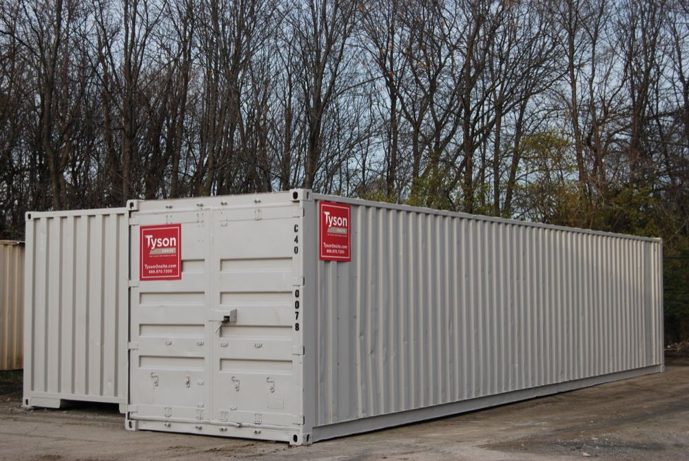 Steel Storage Containers for Secure Jobsite Storage Tyson Onsite