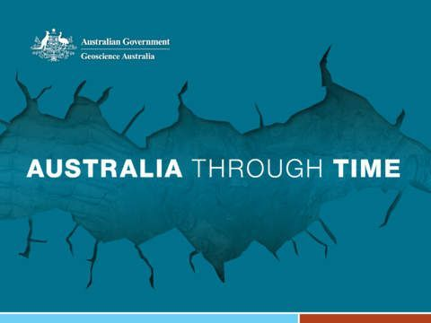 Geological Timescale: Australia through time by Geoscience Australia
