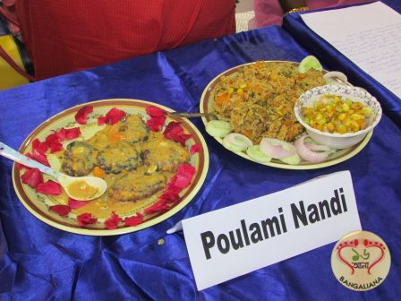 ICC organized a cookery competition at Milan Mela ground to add glory to the Bengal Mango Festival 2017.