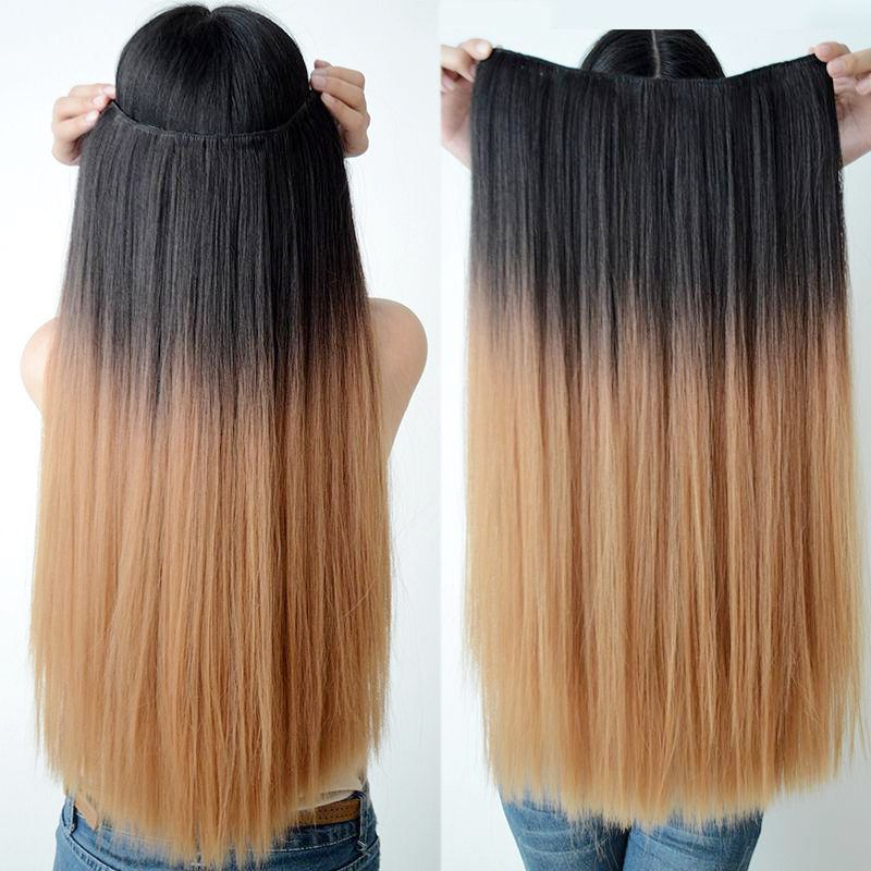 7a 3 Bundles Ombre 1 27 Straight Hair Extensions Buy High Quality