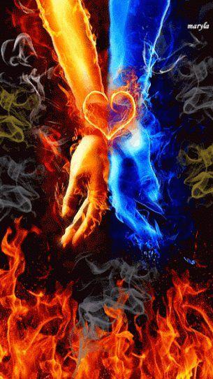 Pin by Tiffani Casey on LOVE | Love art, Fire art, Prophetic art