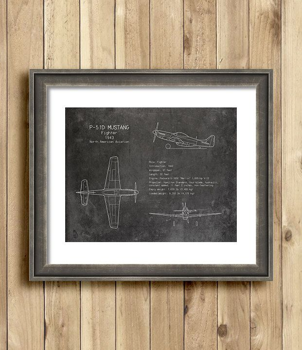 P 51 mustang airplane blueprint art print wwii by scarletblvd boys p 51 mustang airplane blueprint art print wwii by scarletblvd malvernweather Choice Image