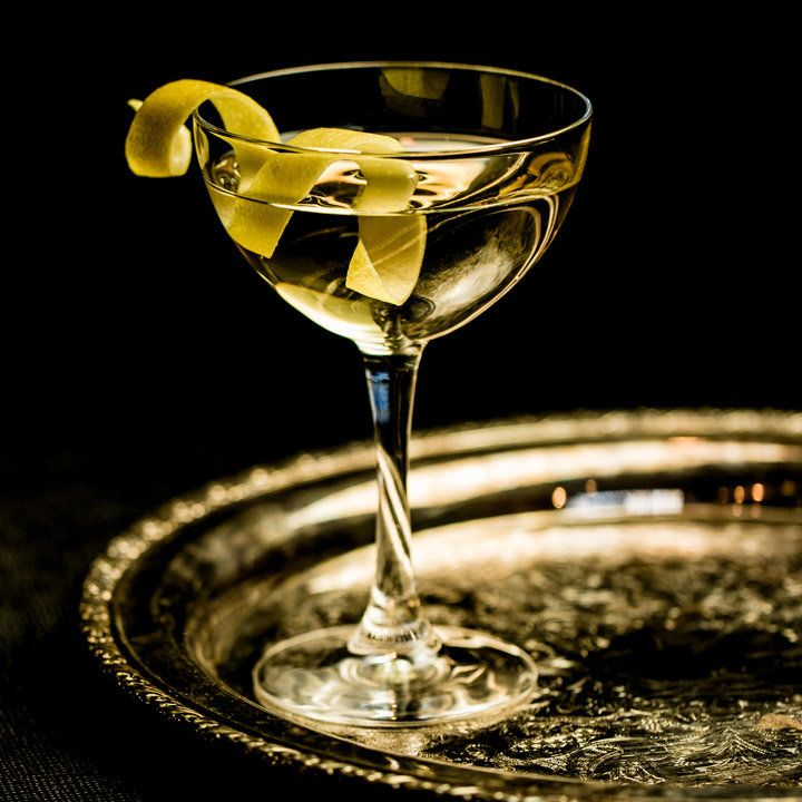 Room Temperature Martini No. 1