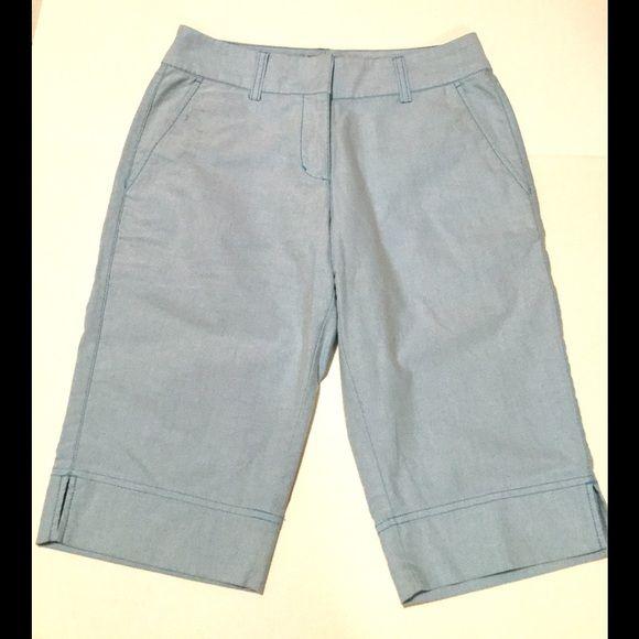 Adidas Light Blue Bermuda Shorts, Size 2 Cute adidas blue shorts, size 2 (xs).  Dress up or down.  Wear on the golf course, beach, or running errands.  Great used condition.  Approximately 22 inches long, 12.5 inch inseam Adidas Shorts Bermudas