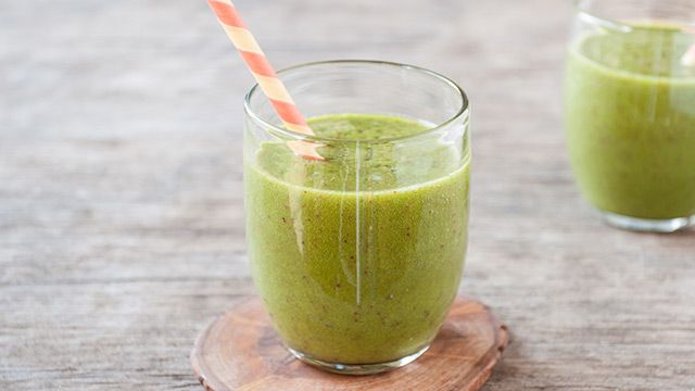 Photo of Ginger-Peach Green Smoothie – barre3
