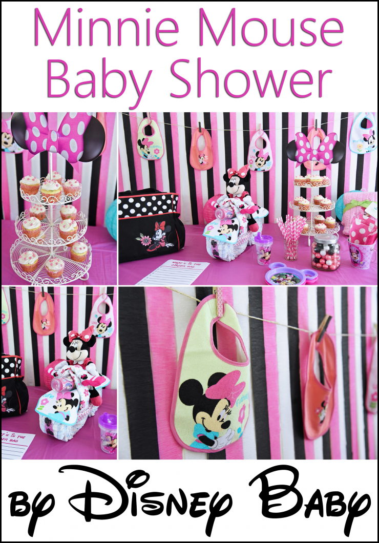 Minnie mouse baby shower by disney baby minnie mouse for Baby minnie mouse decoration ideas