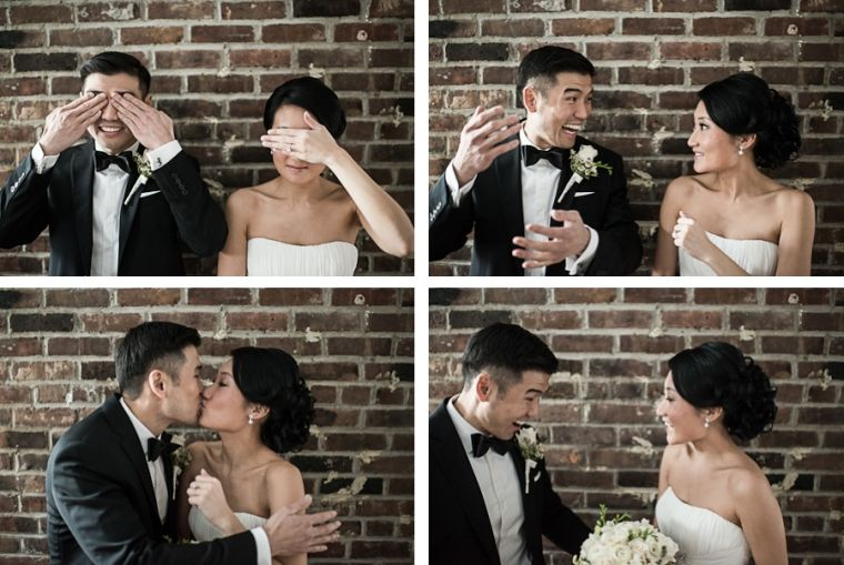 Cutest first look!  Yumi & Alan | Morans in Chelsea, NYC Wedding Photographer Ben Lau.  Gotta Love Ben! :-)