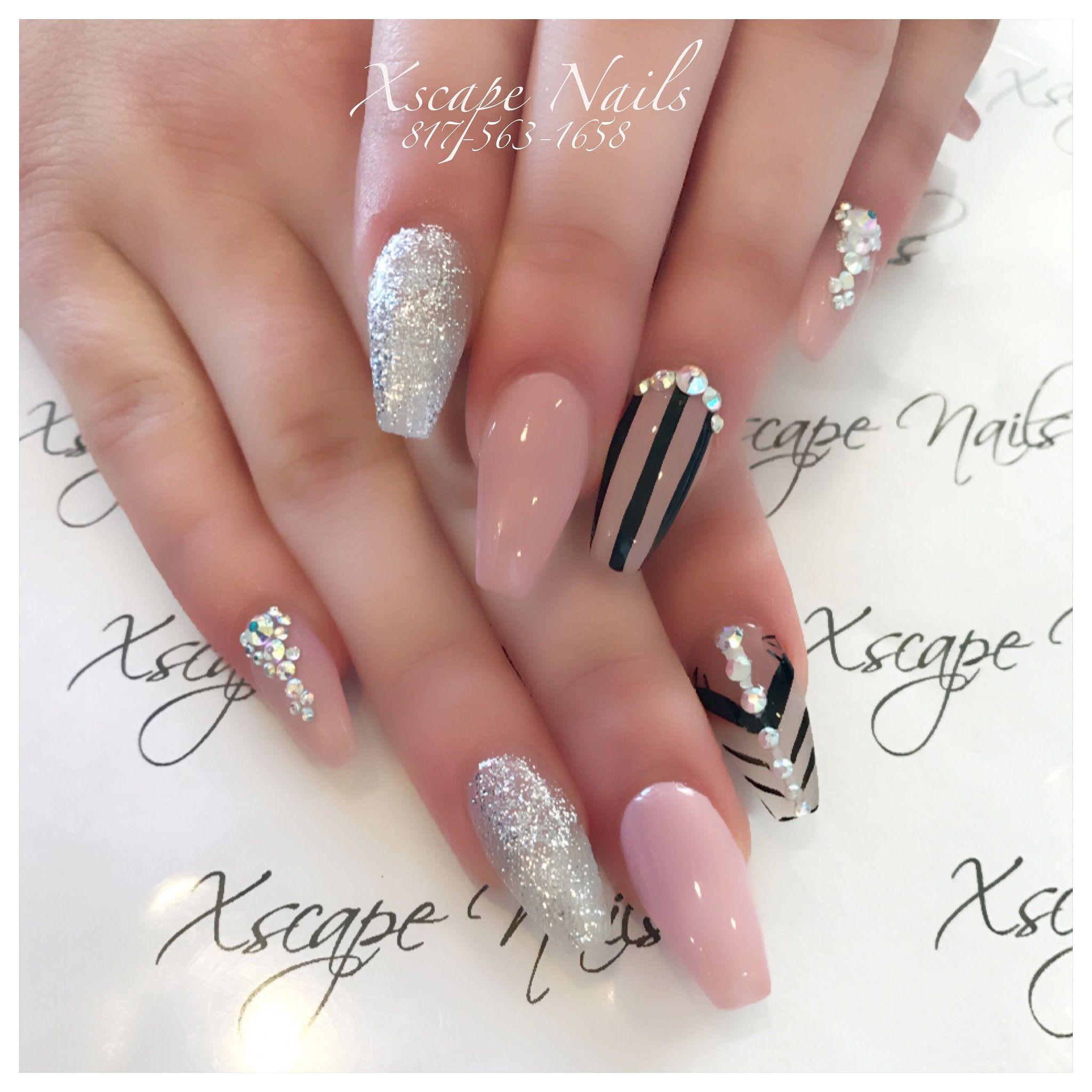 New Years Nails | Nail Ideas | Pinterest | Nail nail, Coffin nails ...