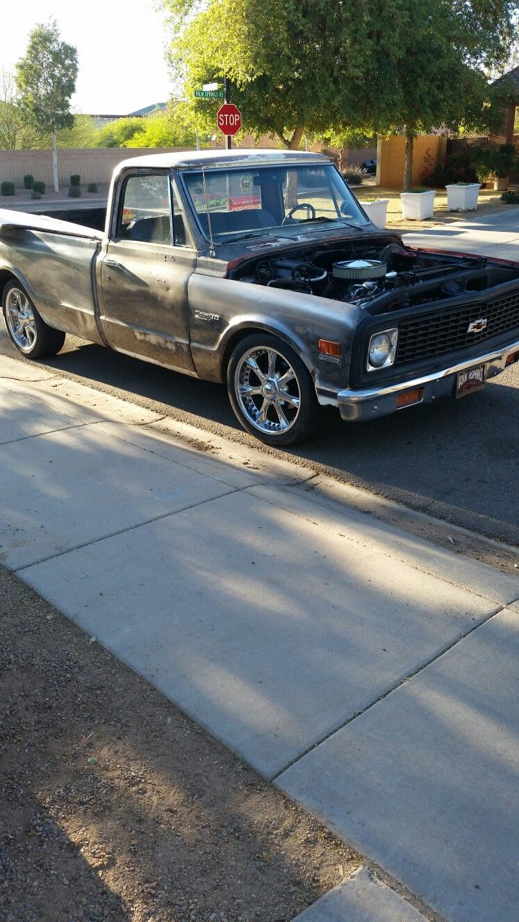 Truck chevy c10 project trucks : My new project. One day it'll be my dream truck   Chevy all the ...