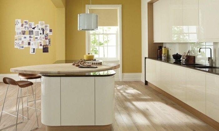 küche streichen creme einrichtung gelbe wände Farben u2013 neue - küche streichen welche farbe
