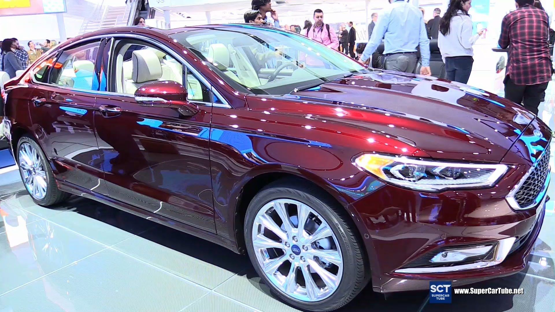 Elegant 2017 Ford Fusion Platinum  Exterior And Interior