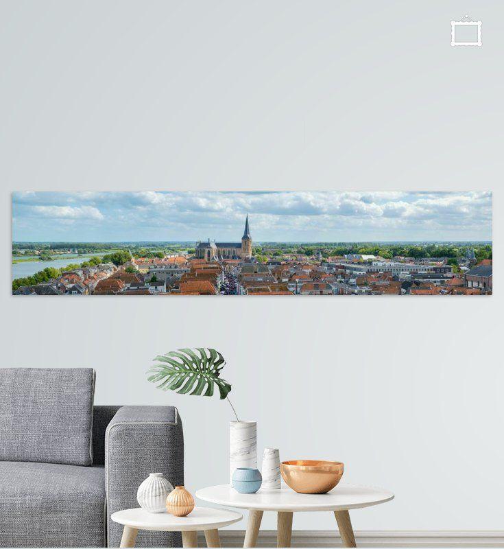 Koop 'Uitzicht over de Hanzestad Kampen aan de IJssel' als print op canvas, behang en meer.