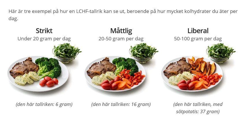 kolhydrater per dag