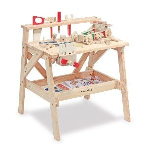 Groovy Super Cool Tool Bench By Melissa And Doug Includes Plans To Machost Co Dining Chair Design Ideas Machostcouk
