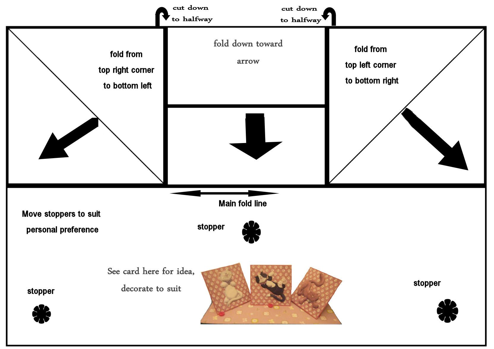 Templates For Card Making Ideas Part - 32: Easel Cards