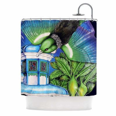 KESS InHouse New Zealand Shower Curtain