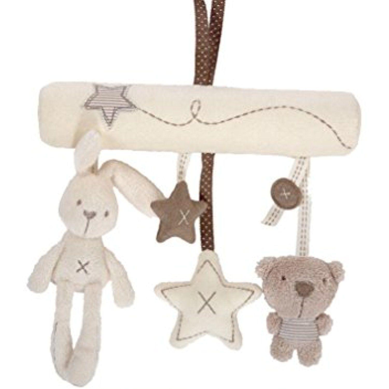 Ckids Baby Music Plush Activity Crib Stroller Soft Toys Rabbit Star Shape Best Baby Gift