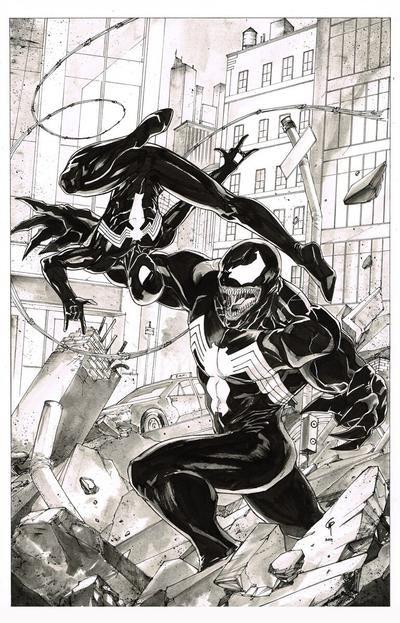 Black Suit Version by Thegerjoos on DeviantArt | Spiderman ...