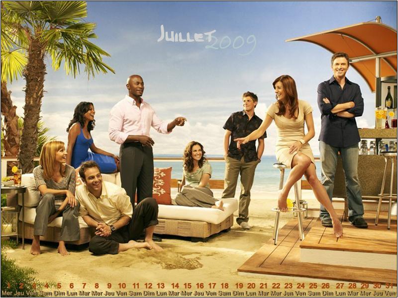 Calendrier 2009 - Juillet - Private Practice   séries que gosto ...