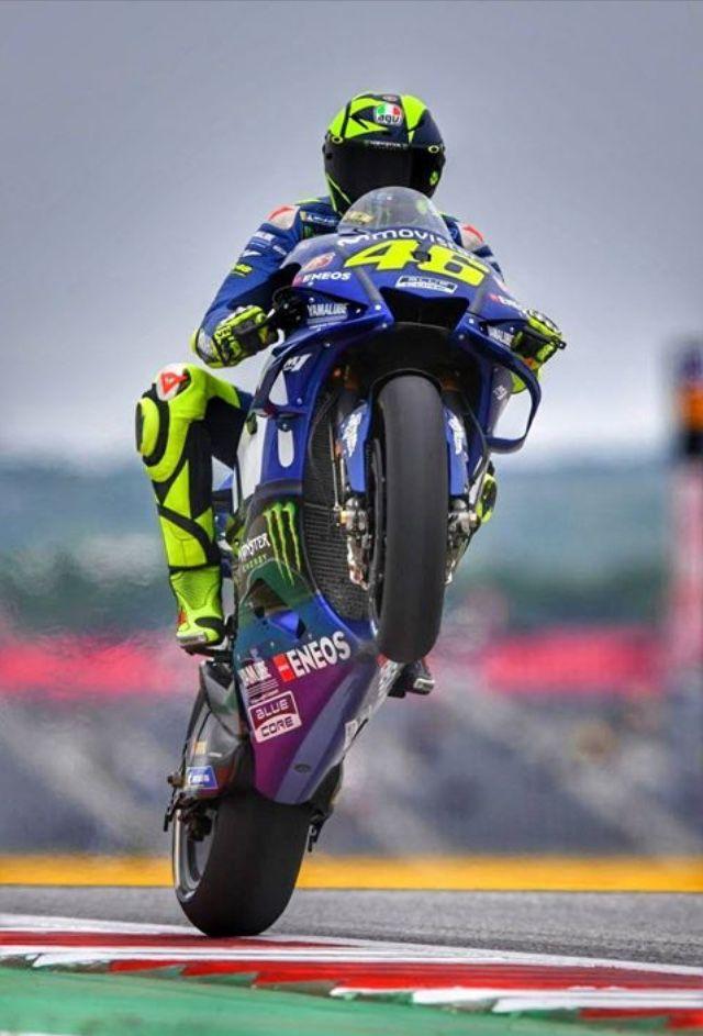 Amerikagp Valentino Rossi 2018 Motogp Valentino Rossi Valentino Rossi Yamaha Motogp Rossi