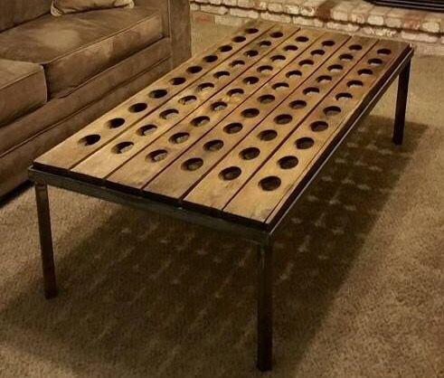 Riddling Rack coffee table