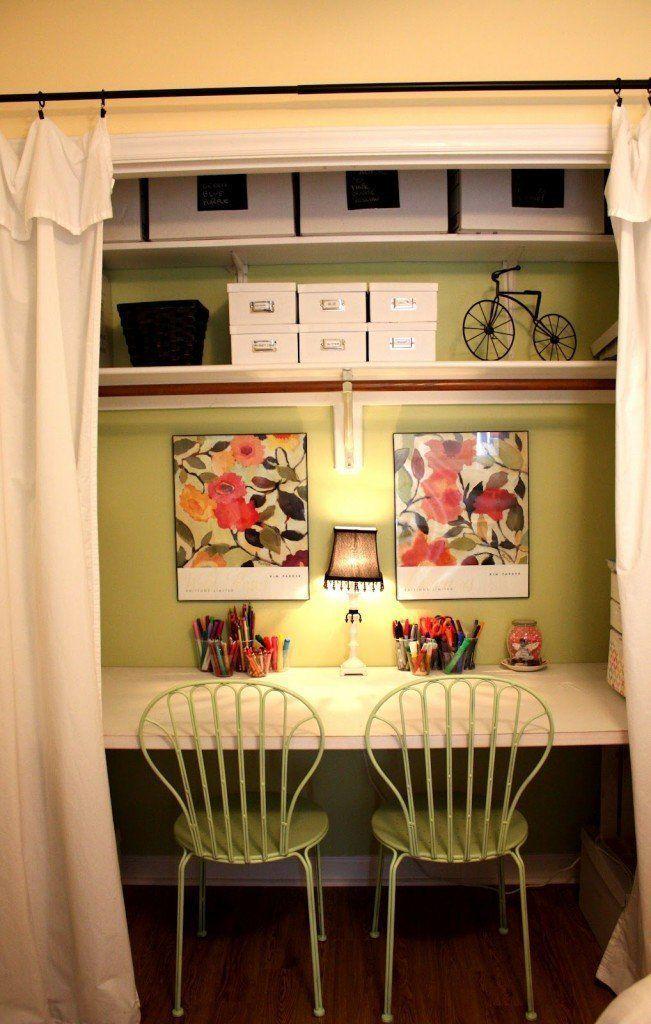 Ideas para organizar espacios peque os1 rincones for Organizar espacios pequenos