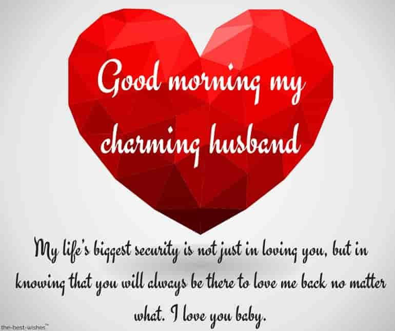 Romantic Good Morning Message For Husband Best Collection