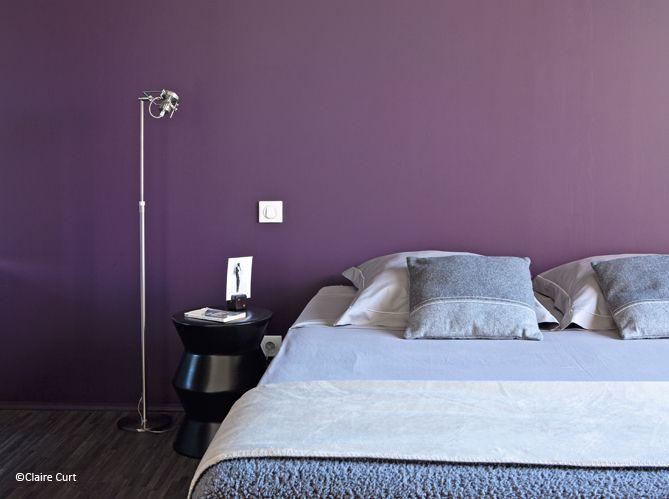 Peinture quelle couleur pour ma chambre d co et violettes for Quelle peinture pour chambre