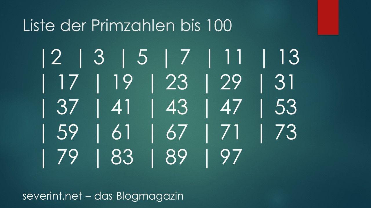 Primzahlen Online