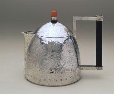 Josef Hoffmann - Silver Teapot, 1903