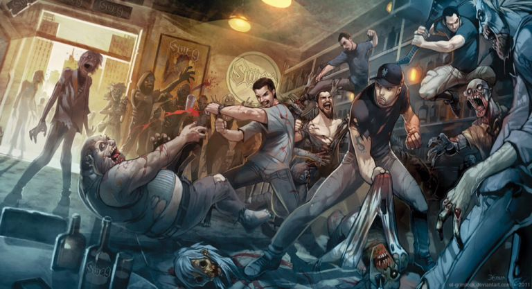 3 Types To Avoid During A Zombie Apocalypse Zombie Wallpaper Apocalypse Art Zombie Cartoon