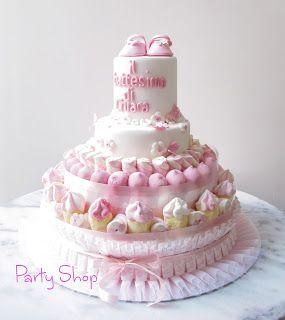 Partyshop Battesimo Bimbo Bimba Pinterest Torte Di