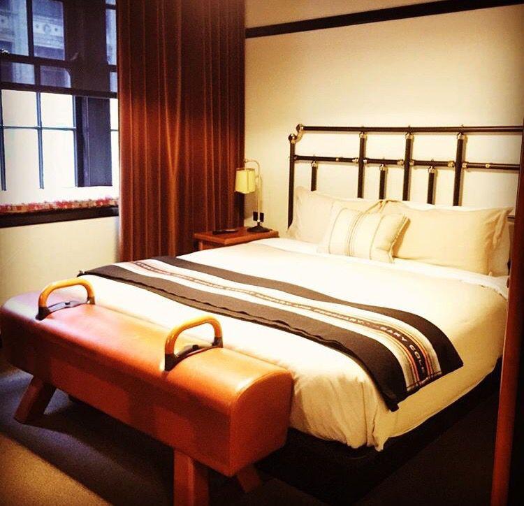 Gymnastics meets home decor. | Bedroom design inspiration ...