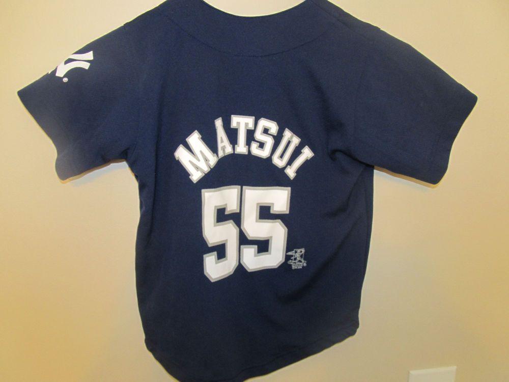 Hideki Matsui - New York Yankees jersey - MLB Toddler 4T  MLB   NewYorkYankees b7e1672e704